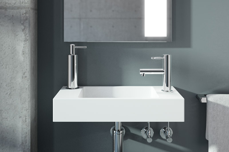 CONTI+ Koncetta Washbasin | Cloakroom Solutions