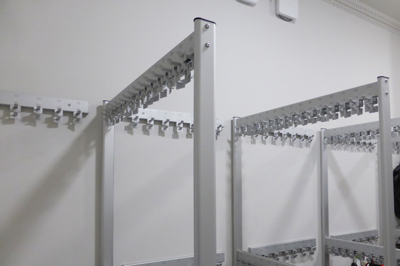 Free Standing coat rails at the Royal Academy | Cloakroom Solutions