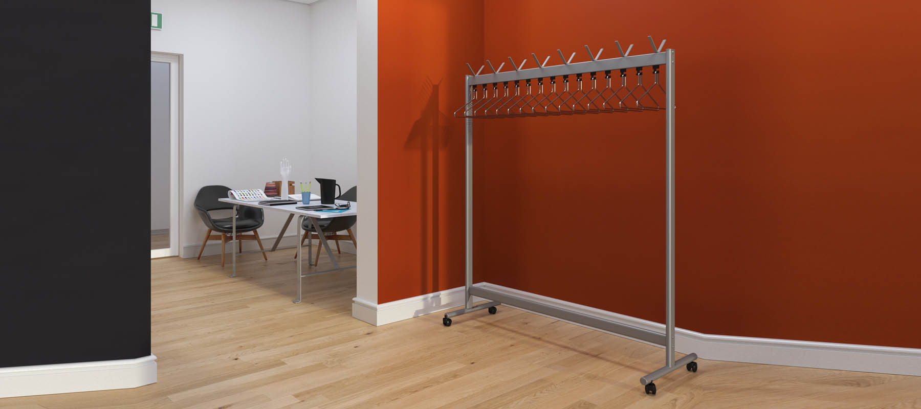 Mobile Coat Rails | Cloakroom Solutions