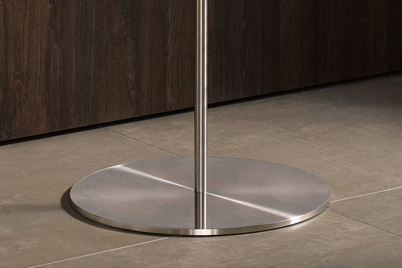 PHOS Stainless Steel Coat Stand Base | Cloakroom Solutions
