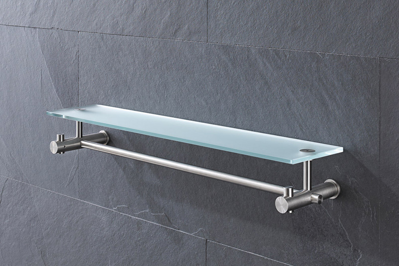 PHOS G9 Shelf with Towel Rail | Cloakroom Solutions