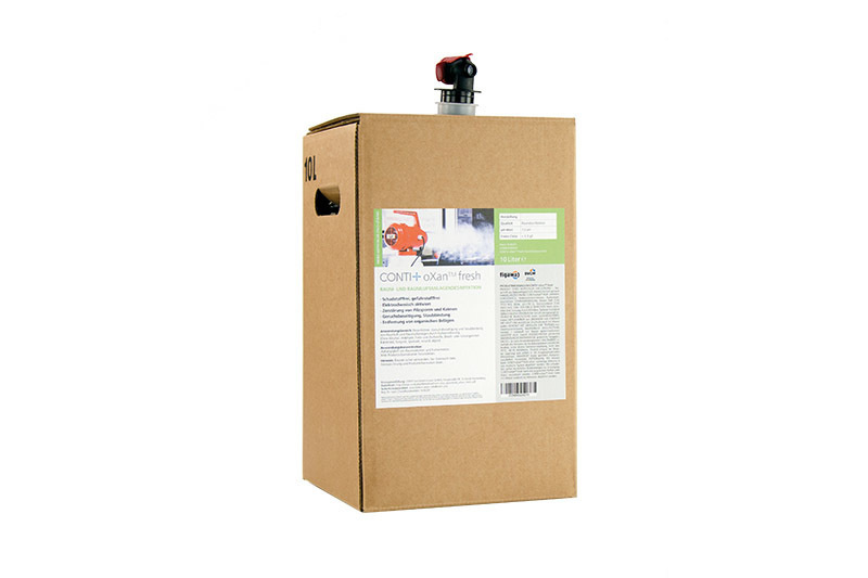 CONTI+ oXan Fresh 10lt Bag in Box | Cloakroom Solutions