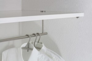 GSUN18 Wardrobe Rail | Cloakroom Solutions