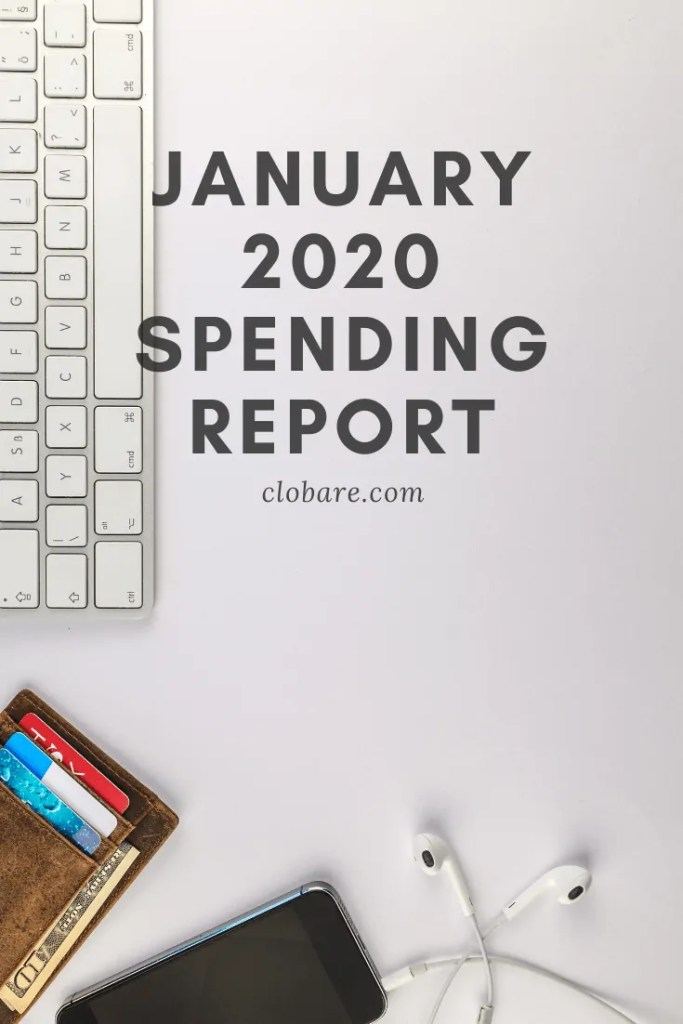 Clo Bare: January 2020 Spending Report