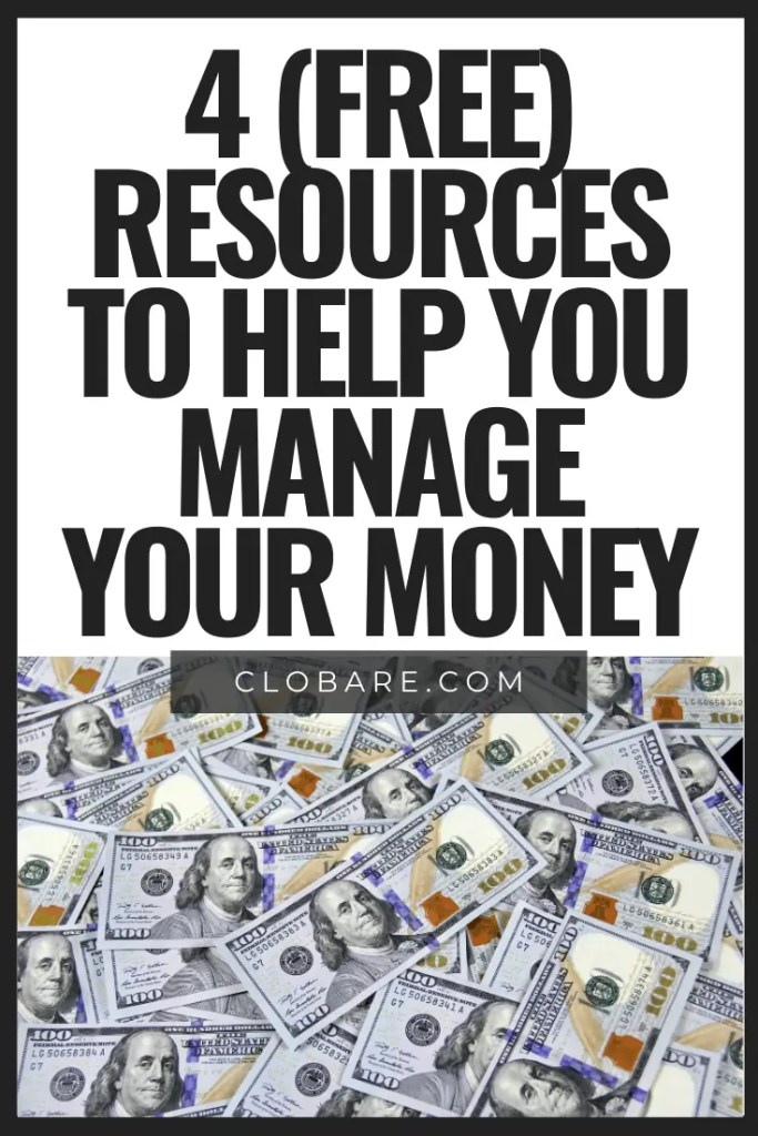 4 free resources to help you manage your money