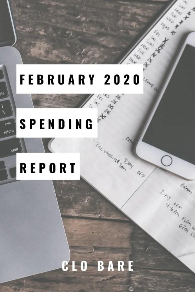 February 2020 Spending Report | Clo Bare