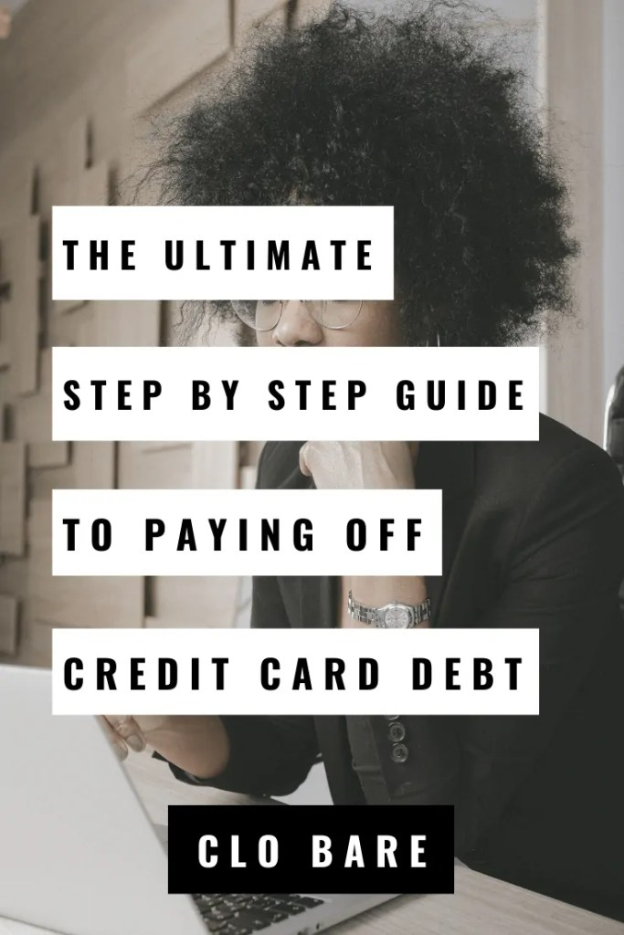the ultimate guide to paying off credit card debt