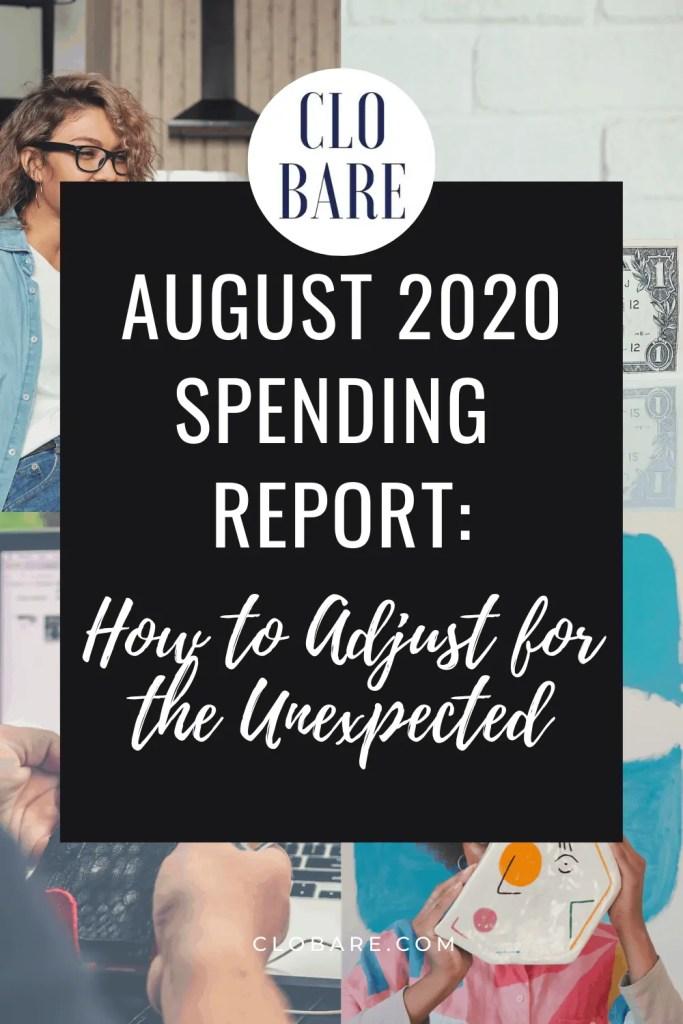 august 2020 spending report