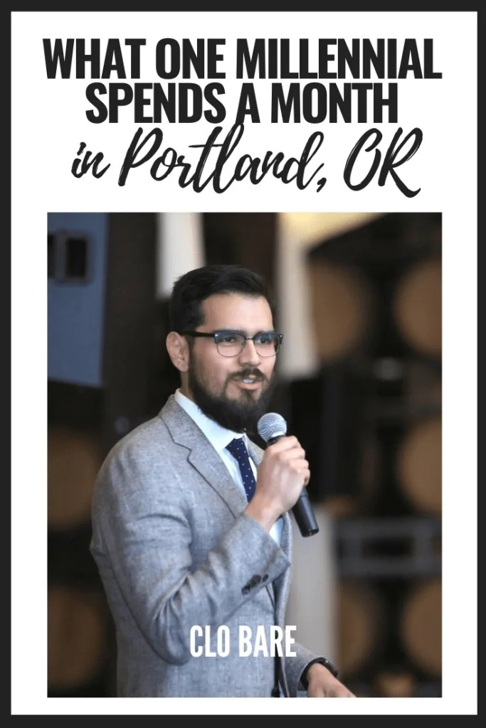 What One Millennial Spends in a Month in Portland