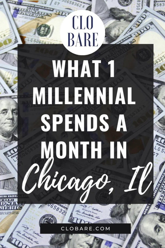 what I spend a month in chicago