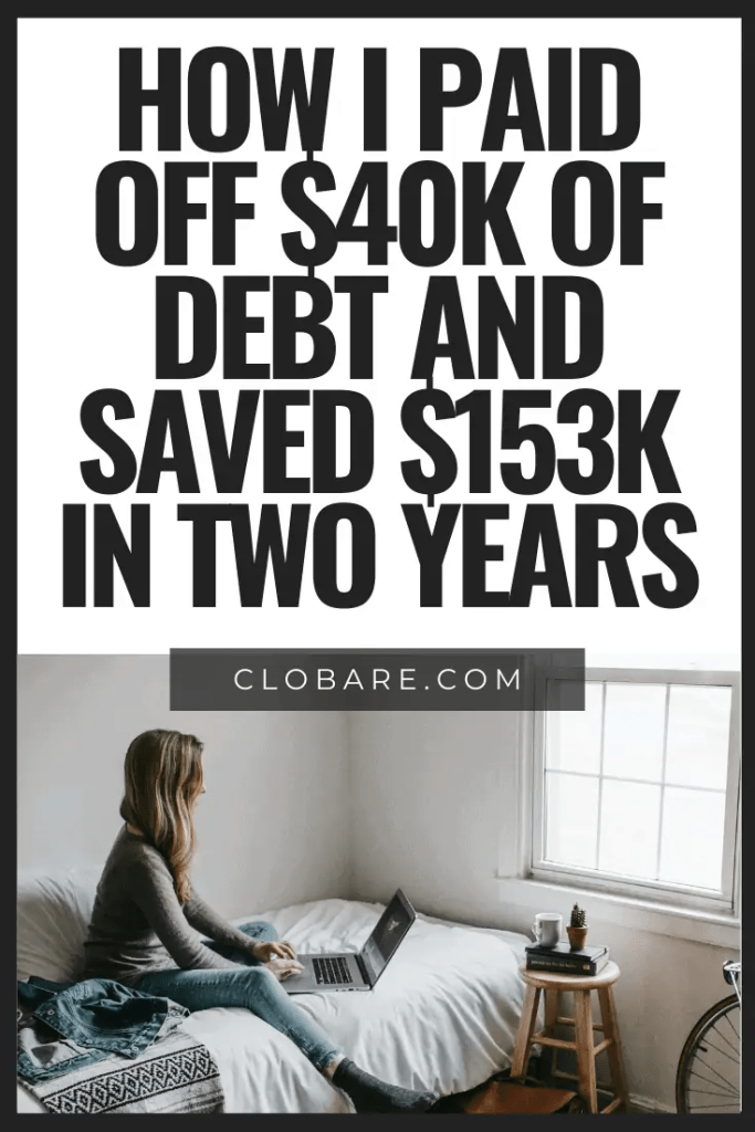 how I paid off $40k of debt