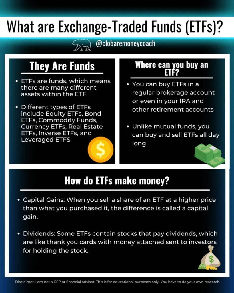 what is an exchange-traded fund