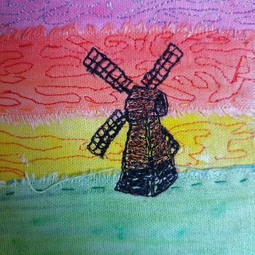 windmill stitch