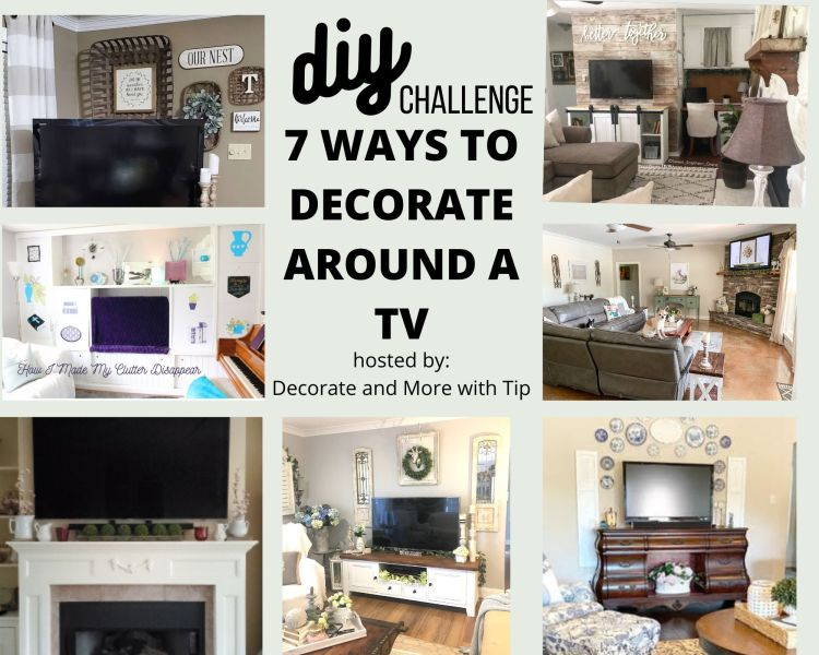 7 Ways To Decorate Around a TV