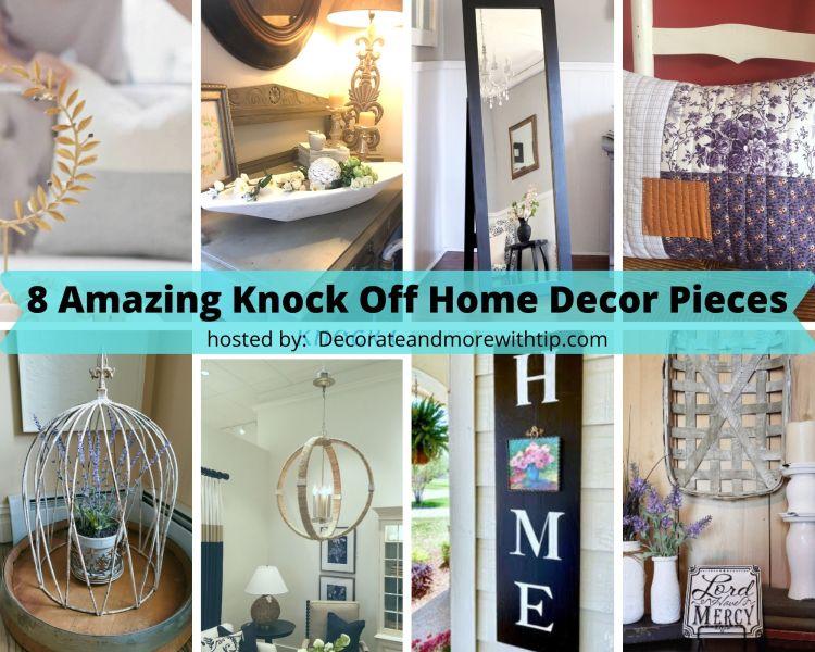 8 Knock Off Home Decor