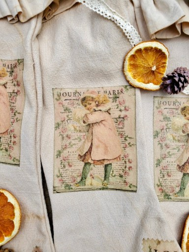Christmas stockings finished and a close up to see the image details