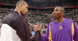 Tim Duncan talks Kobe