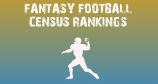 fantasy football census rankings