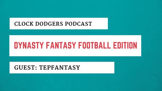 Fantasy Football Dynasty Clock Dodgers TEPfantasy