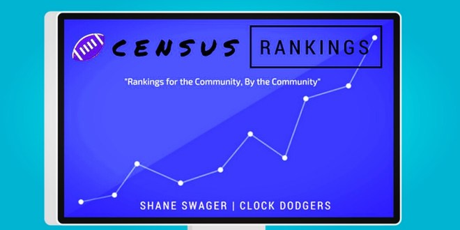 census wr rankings