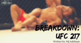 ufc 217 breakdown