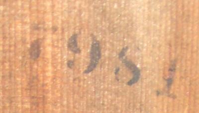 Date stamp on back