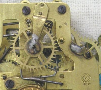 Showing the soldered on Rathbun bushings