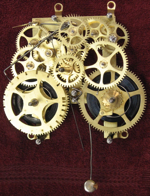 showing gears