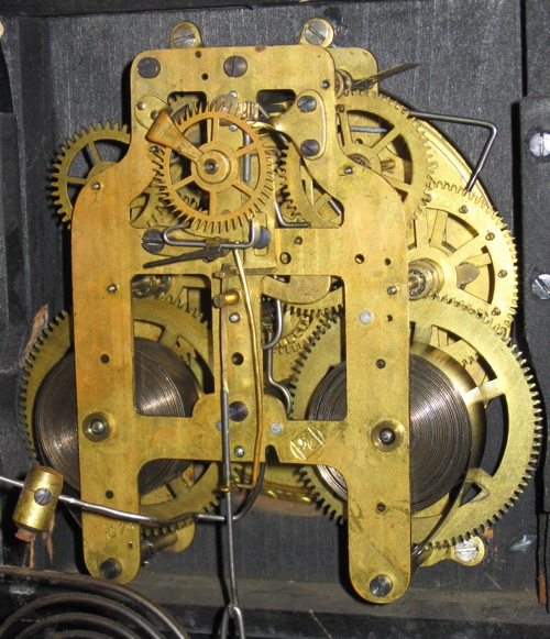 Back escapement Adamantine movement