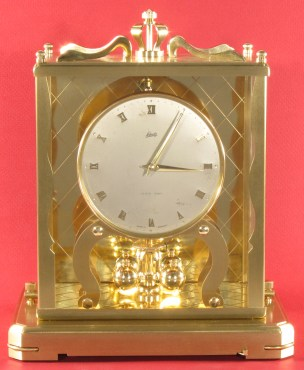 Schatz 1000 Day Clock dated 3 56 (March 1956)