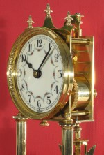 """Fancy bezel with wider front section and """"piecrust"""" decoration."""
