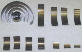 15 pieces of the broken mainspring