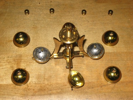 Two lead weights were missing from the pendulum