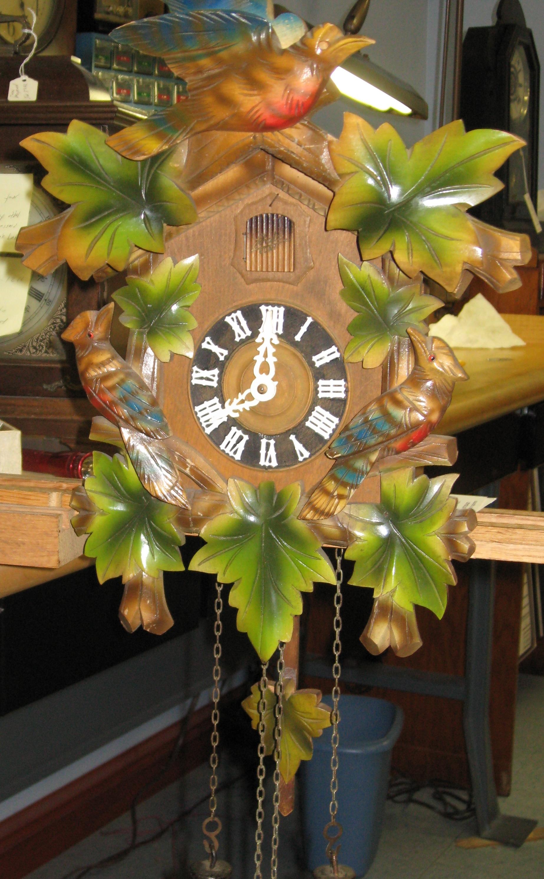 Four Schatz Cuckoo Clocks Clockinfo