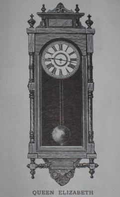 "Ansonia ""Queen Elizabeth"" wall clock as shown in the 1906 - 1907 Ansonia catalog."