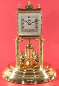 Clock after polishing