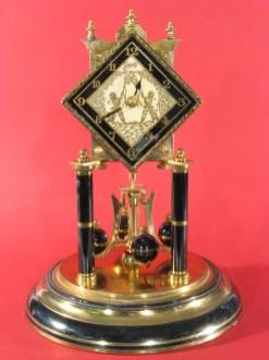 Schatz diamond dial 400 day clock made in 1952