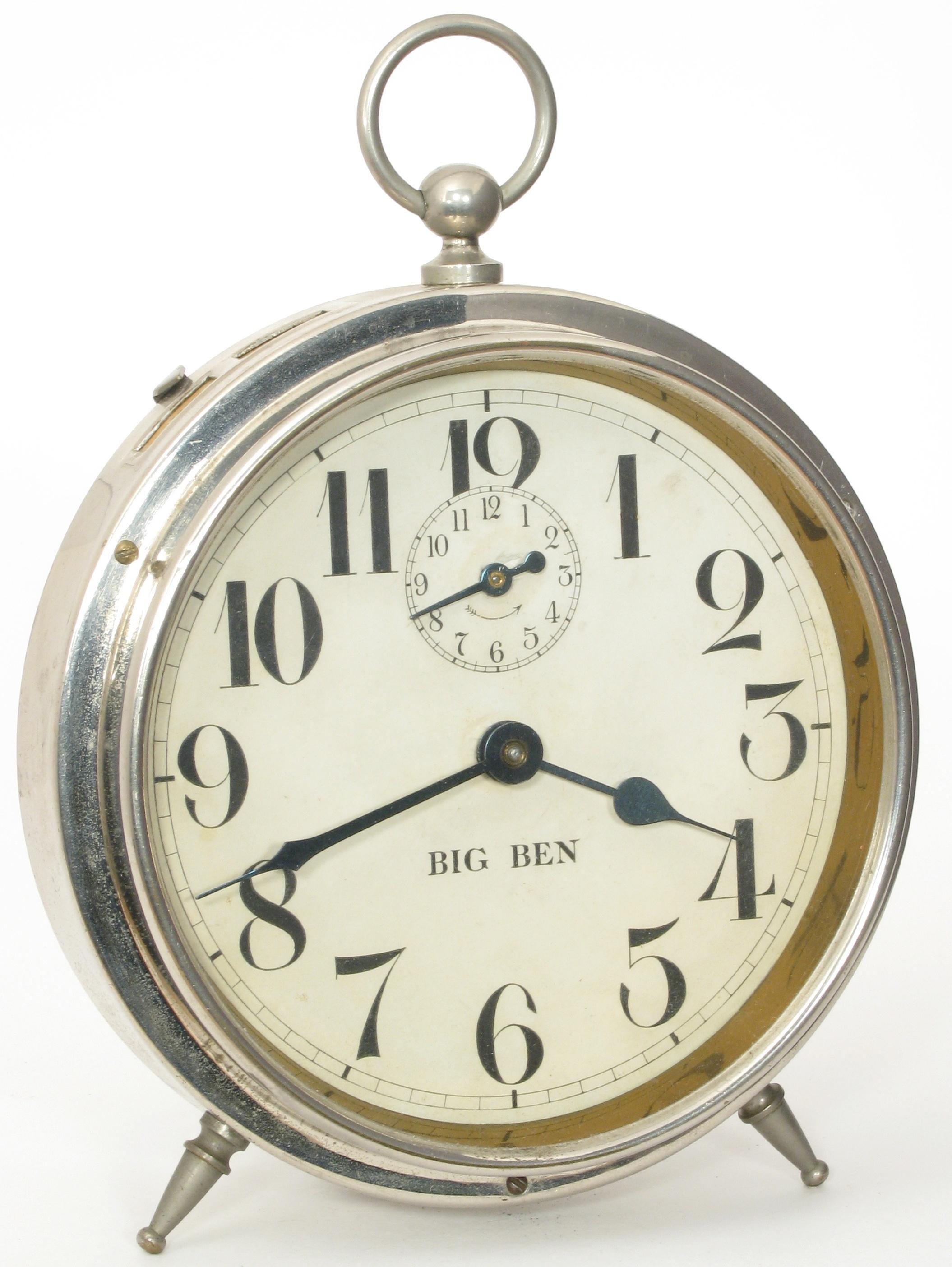 Winding Keys On Westclox Big Ben Leg Model Alarm Clocks Clockinfo