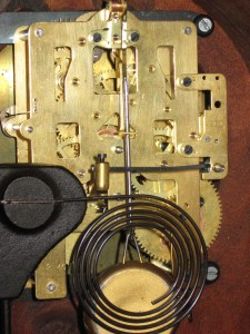 Back of movement has date stamp 2-40 and model number 4501