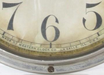 WESTERN CLOCK CO., LA SALLE, ILL., U.S.A.