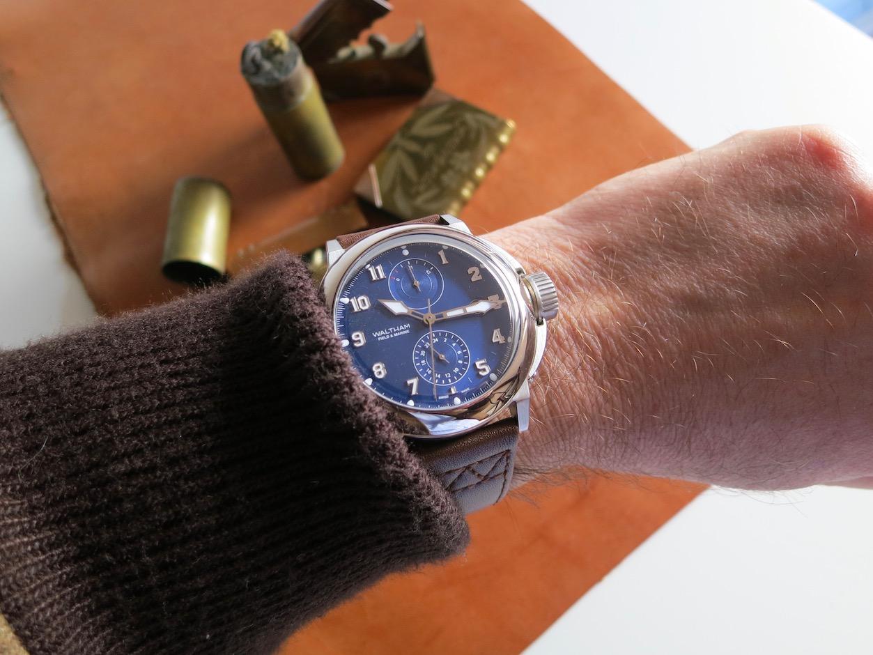 WALTHAM Field and Marine Dual time wristshot by Jerry