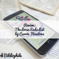 Review: The Loose Ends List by Carrie Firestone