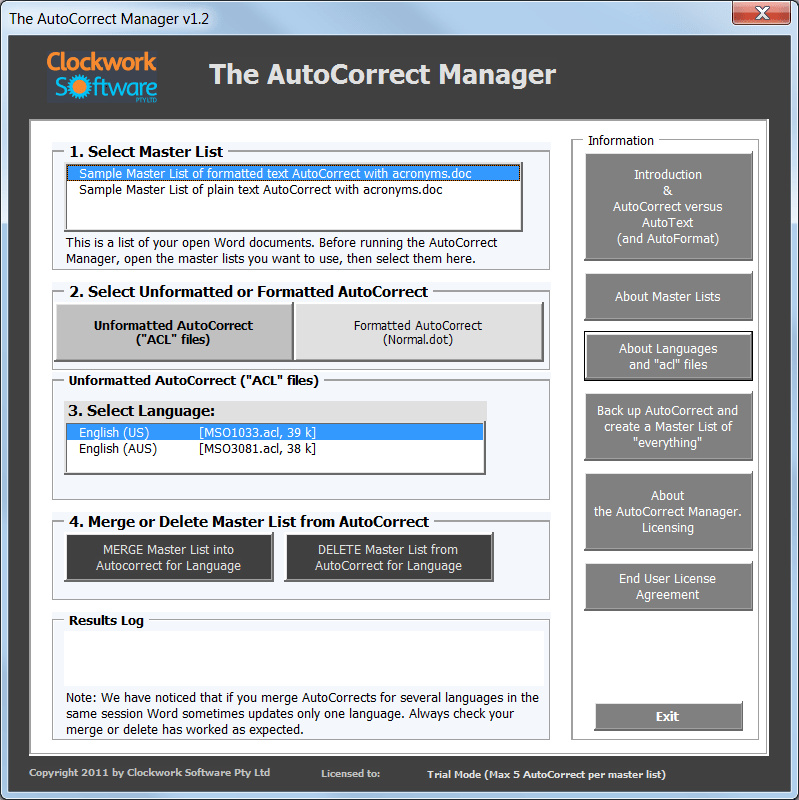 AutoCorrectManagerMainScreen
