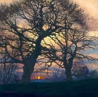 Sunset, Brockwell Park