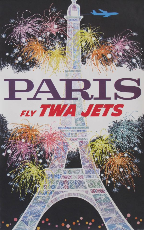 TWA Jets - Paris