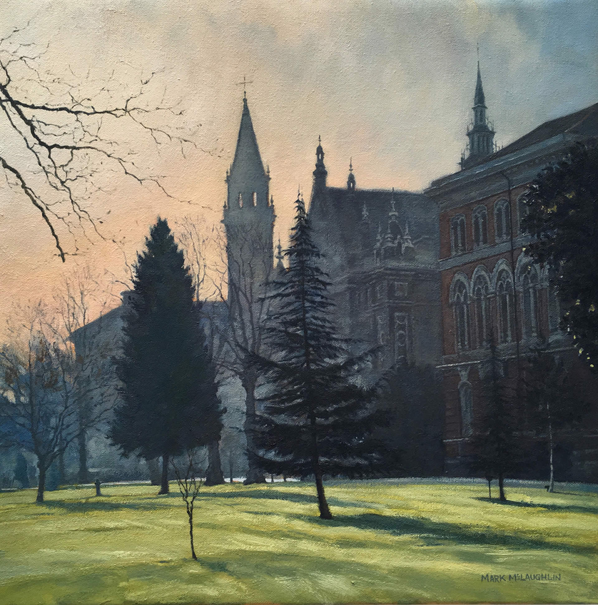 Morning Mist, Dulwich College