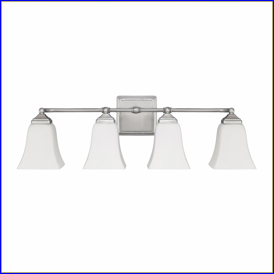 5 Light Bathroom Fixtures Brushed Nickel