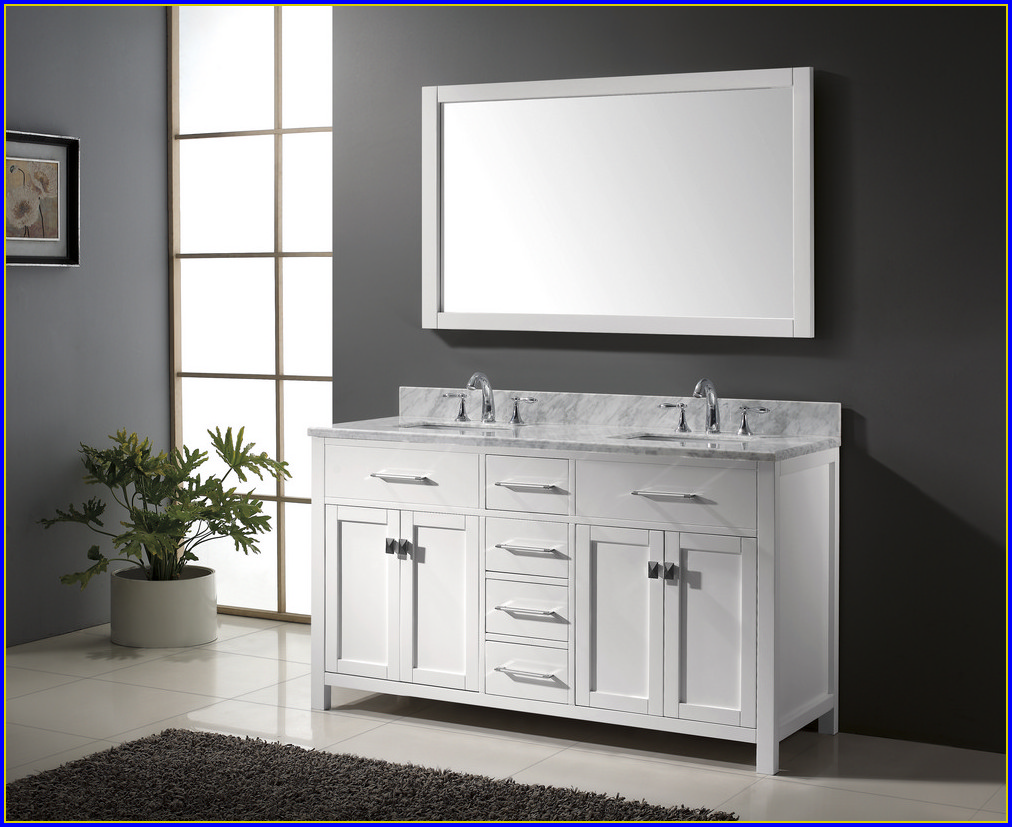 60 Inch Bathroom Vanity Double Sink Top
