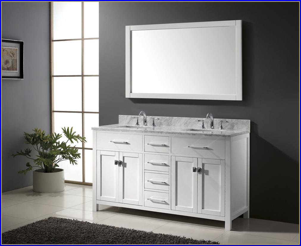 60 Inch Bathroom Vanity Double Sink Top
