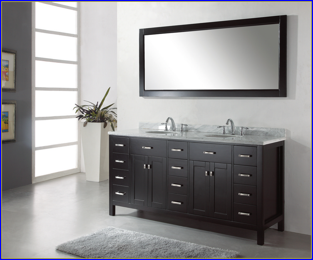 72 Inch Bathroom Vanity One Sink